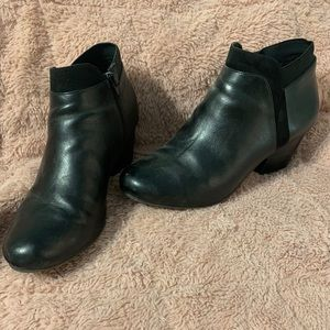 Women's ortho comfort black booties